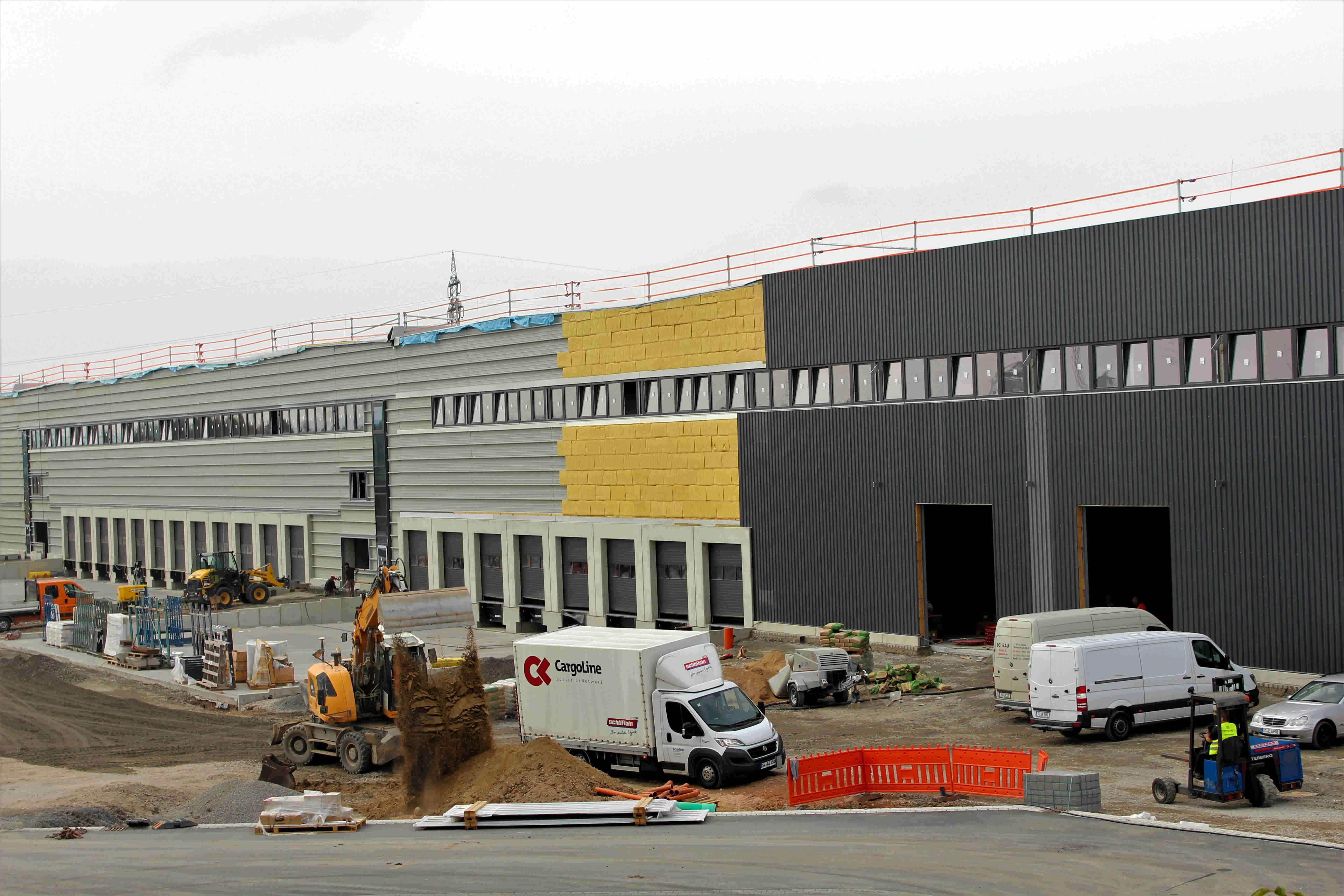Neues Versandlager der Schäflein AG in Röthlein