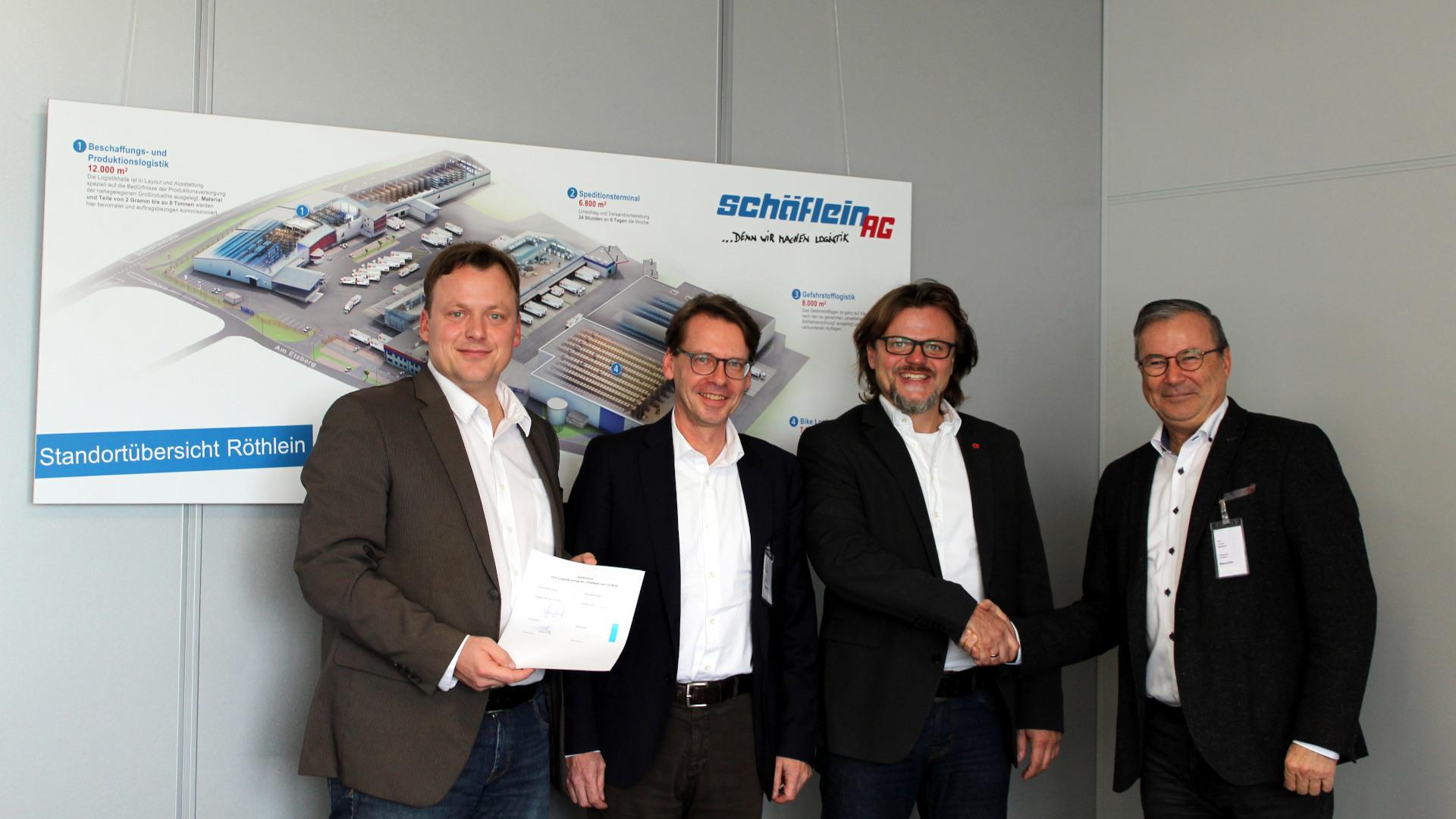 Kontraktlogistiker Schäflein bleibt Logistikpartner von Bosch Rexroth Horb