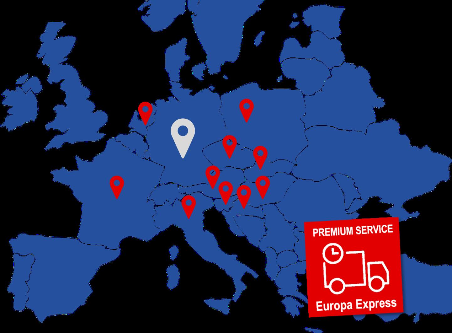 Europa Express - Ihre Alternative zur Sonderfahrt jetzt auch nach Polen und Niederlande