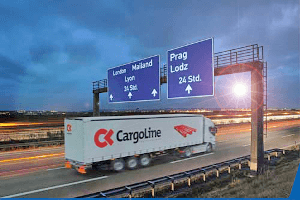 Schäflein Spedition transportiert Waren international