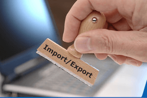 Verzollung der Waren bei Import und Export