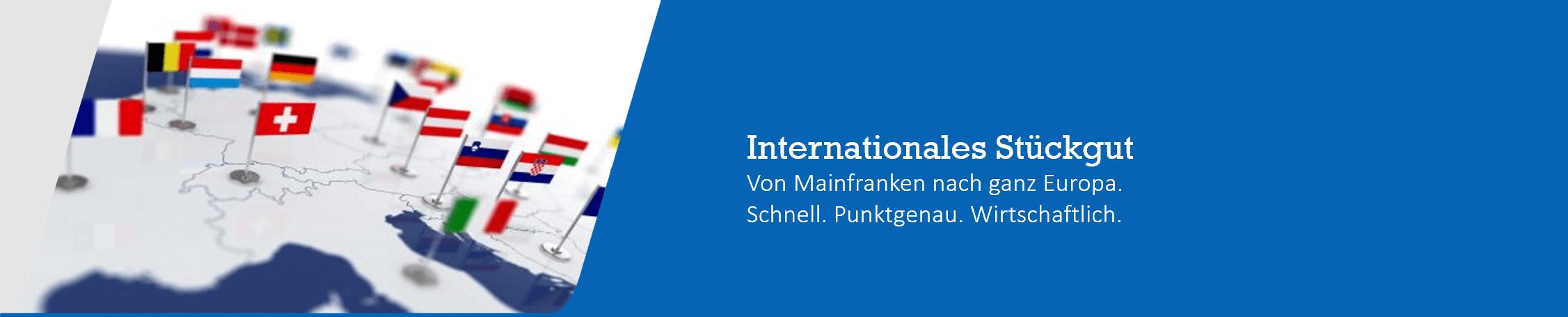 internationale Spedition Schweinfurt